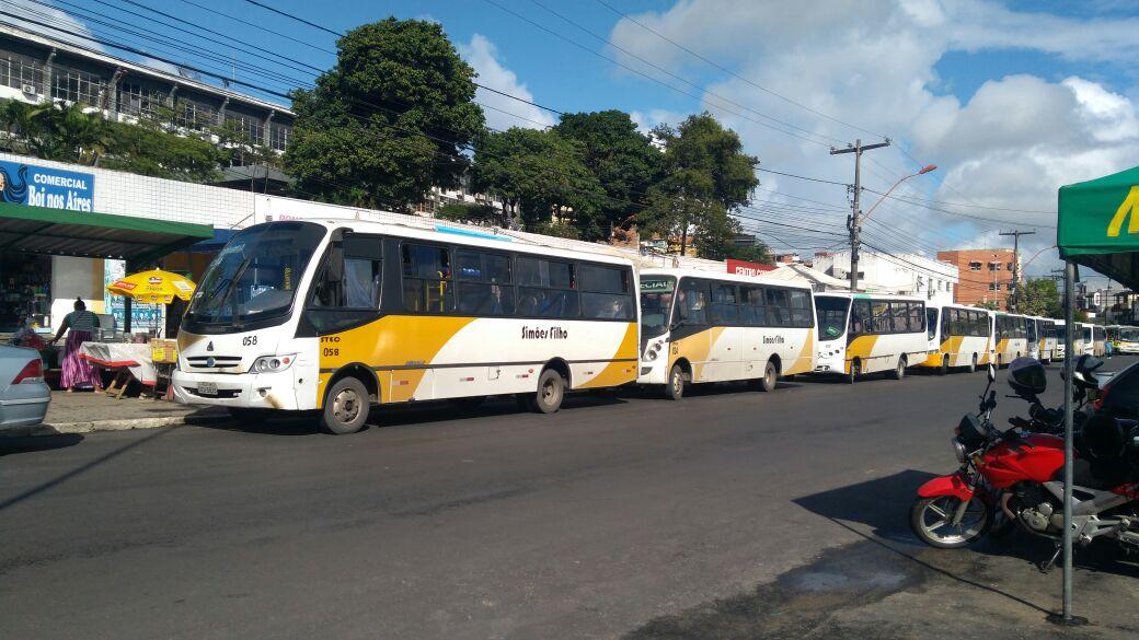 Resultado de imagem para transporte publico simoes filho